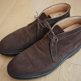 ALDEN - My Alden Collection 〜 Beams Special チャッカブーツ スエード Dark Brown プランテーションソール