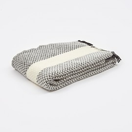Klippan - Jazz Throw - White