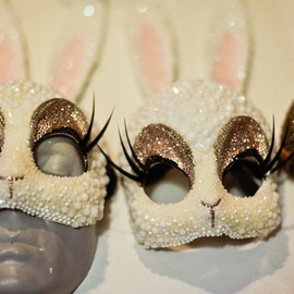 Bunny masks! by Erik Halley