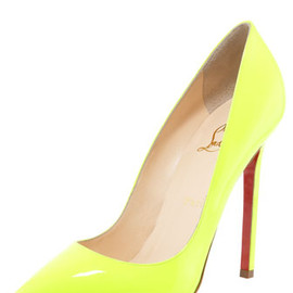 Christian Louboutin - Neon Fluo heel/pumps BGS12_X16LV