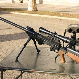 PGM Hecate IIA bolt-action .50 cal rifle