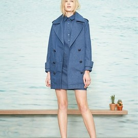 BAND OF OUTSIDERS - Coat, 2015 Fall and Winter