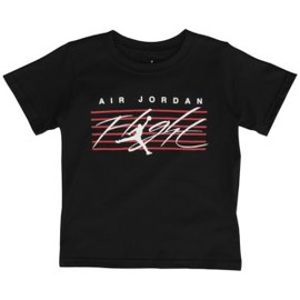 Jordan - Jordan Flight On Key T-Shirt - Boys' Preschool - Black/White