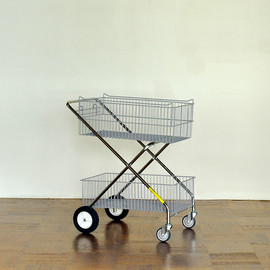 LAUNDRY CART SINGLE POLE