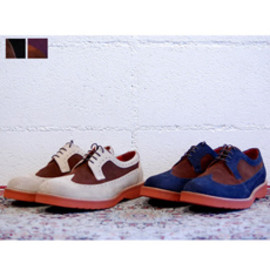 UNITED LOT - Wing Tip Shoes