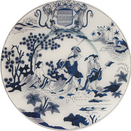 JOHN DERIAN - Faience Chinois de Genre Hollandaise