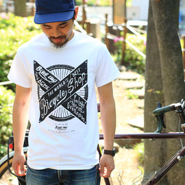 BLUE LUG - ACME×BLUE LUG wheel pocket t-shirt