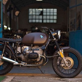 Cafe Twin Roma - BMW R80