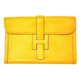 HERMES - yellow/clutch