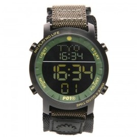P01TIME SUPER DIGITAL KHAKI