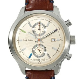Paul Smith - Paul Smith(ポールスミス)のSWISS WATCH / CAMBRIDGE CHRONOGRAPH(腕時計)|ブラウン