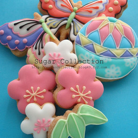 JILL's Sugar Collection's - Japanese style cookies