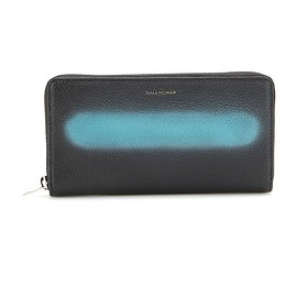 BALENCIAGA - Leather wallet