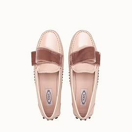TOD'S, T Factory, Alessandro dell'Acqua - Gommino Driving Shoes in Patent Leather