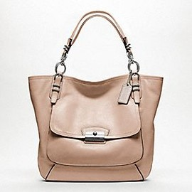 coach - kristin pinnacle leather tote