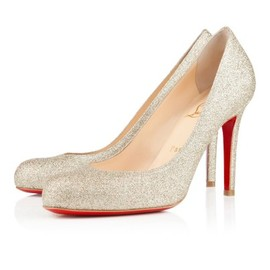 Christian Louboutin - SIMPLE PUMP GLITTER MINI