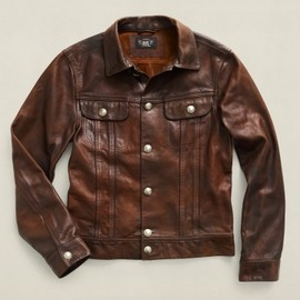 RRL - RRL Gambler's Leather Jacket