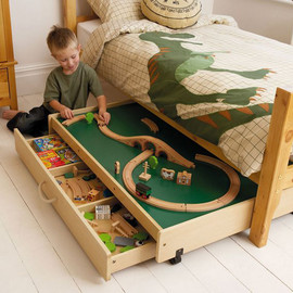 Great Little Trading Company - Under the bed Trundle Play Table