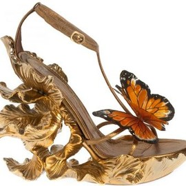 Alexander McQueen - Butterfly Shoes, Spring/Summer 2011.