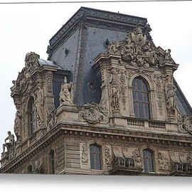 Fine Art America - Louvre - Paris France - 011328 Acrylic Print By Dc Photographer