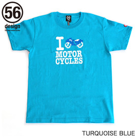56design - I Love Bike Tee