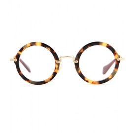 miu miu - Optical round glasses