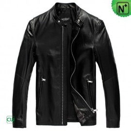 CWMALLS - Mens Black Leather Jackets uk CW809012 - m.cwmalls.com
