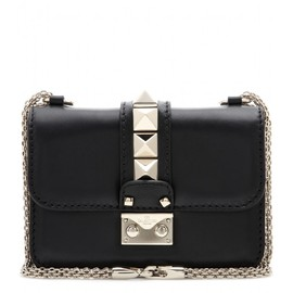 VALENTINO - Lock Mini leather shoulder bag