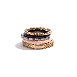 Madewell - Colorwheel Ring Set