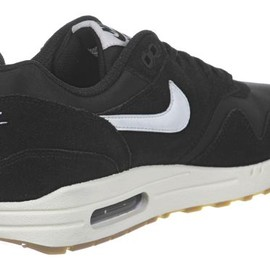 Nike - Air Max 1 - BLACK/SAIL/BLACK/GUM LIGHT BROWN/SAIL