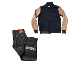 edwin - homerun jacket edwin jeans EDWIN HOMERUN JACKET + EDWIN JEANS | DENIM GEEK 30% SALE