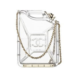 CHANEL - Resort2015 Gas can-shaped Clear Bag