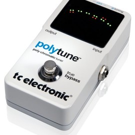 TC ELECTRONIC - t.c.electronic Polytune poly-chromatic tuner