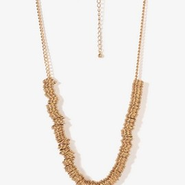 FOREVER 21 - Multi-Ring Chain Necklace
