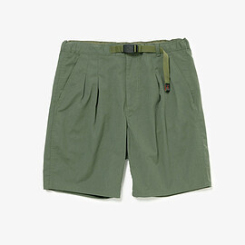 nonnative - WALKER EASY SHORTS POLY TWILL STRETCH COOLMAX® by GRAMICCI / OLIVE