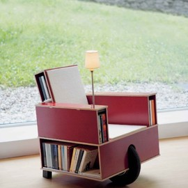Unique Furniture Design - Book Chair