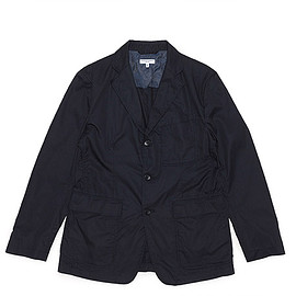 ENGINEERED GARMENTS - Baker Jacket-High Count Twill-Dk.Navy