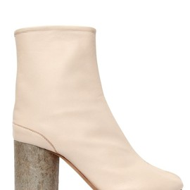 Maison Martin Margiela - 80MM TABI CALF LEATHER ANKLE BOOTS