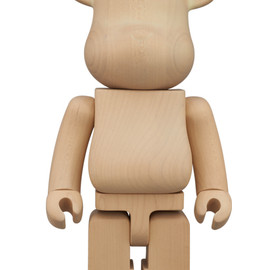 MEDICOM TOY - 400% カリモク BE@RBRICK GLOW IN THE DARK