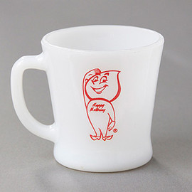 Fire King - D-handle ENCO advertising Mug