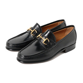 ENZO BONAFE - BIT LOAFER / BLACK