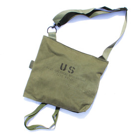 US MILITARY - SHOULDER BAG (MASK,CHEMICAL BIOLOGICAL,TANK,M25A1)