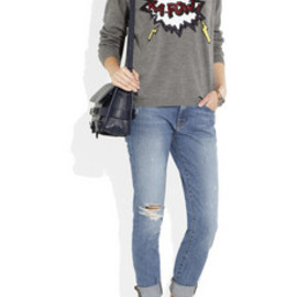 Markus Lupfer - Kapow! sequined merino wool sweater
