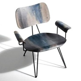 DIESELwith MOROSO - 「OVERDYED LOUNGE CHAIR」WEATHERED GREY