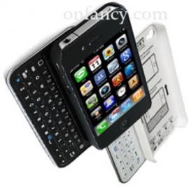 iphone case - Sliding Black or White Bluetooth Keyboard+Hardshell Case for iPhone 4/4s/5