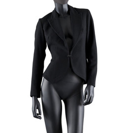 Azzedine Alaia - Single-Breasted Wool Peplum Jacket, 1991