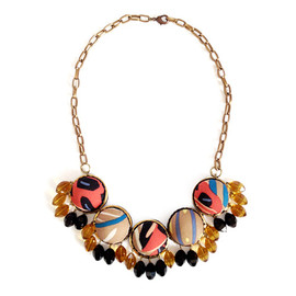 YAGA - Domes Textile Necklace / ネックレス