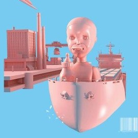 TOY STORY - toy doll on boat