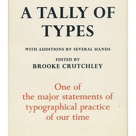 Stanley Morison - A Tally Of Types