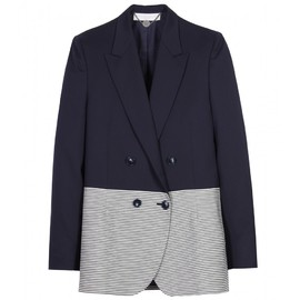 STELLA McCARTNEY - LUCETTE STRIPED BLAZER